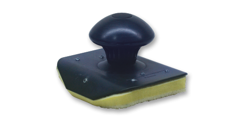 Éponge rotative velcro pour lustrant à pneu